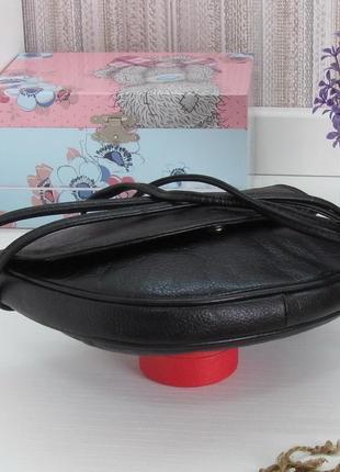 Компактная сумка, натуральная кожа, англия.5 фото
