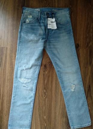 Джинсы бойфренды рваные джинсы