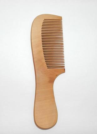 Гребень деревянный для волос