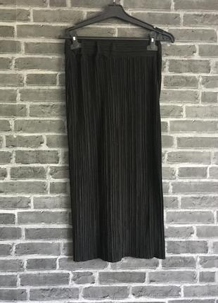 Чёрная юбка карандаш zara