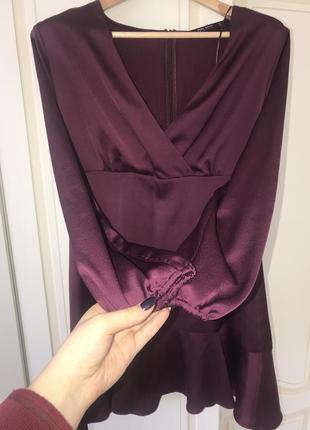 Платье zara , красивый цвет