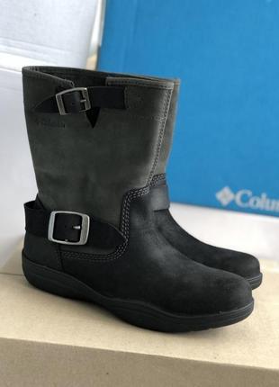 Водонепроницаемые коротенькие ботинки сапоги columbia® elsa