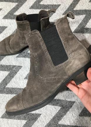 Челси / борги / ботинки кожа