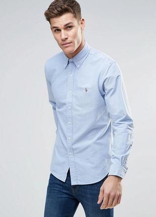 Классическая рубашка polo ralph lauren оригинал !