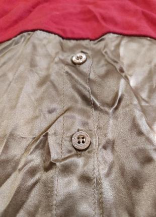 Платье шёлк + котон massimo dutti2 фото