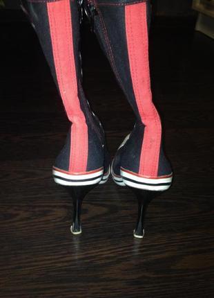 Кеди на каблуках