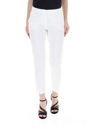 Брюки белые брюки классические брюки по косточку
