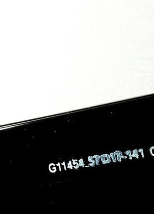Gucci очки женские солнцезащитные большие черные квадратные в камнях7 фото