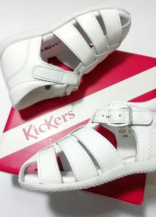 Cандалі kickers blanc - оригінал!