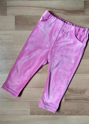 Вельветовые лосины, штаны