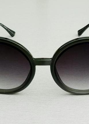 Dolce & gabbana очки круглые женские солнцезащитные оправа цвета хаки