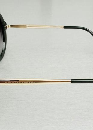 Dolce & gabbana очки круглые женские солнцезащитные оправа цвета хаки3 фото