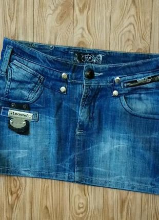 Юбка джинсовая l&d3 фото