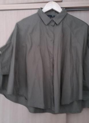 Интересная блузка рубашка накидка bff zara. оригинал