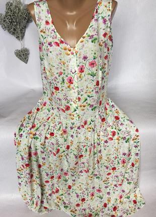 Нежное легкое платье