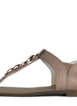 Римские сандалии из натуральной кожи