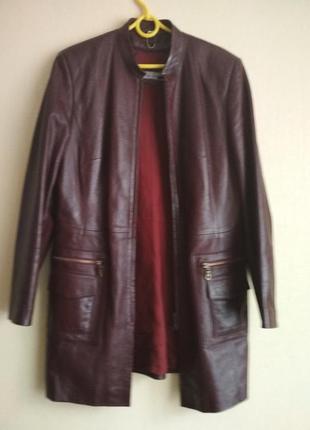 Ціну знижено!!! кардиган кожаный,шкіряний, куртка кожаная, косуха
