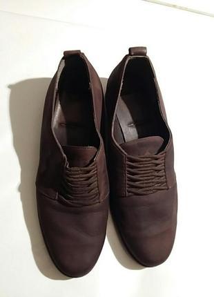 Туфли итальянские шоколадного цвета