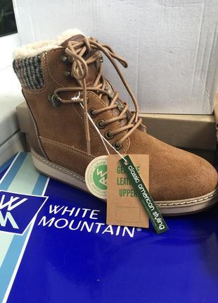 Ботинки женские новые  бренд  megasale white mountain
