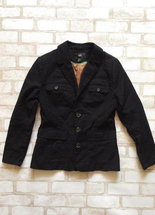 Классный пиджак h&m s-m