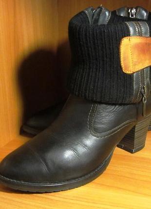 Зимние ботинки на овчине, италия, оригинал