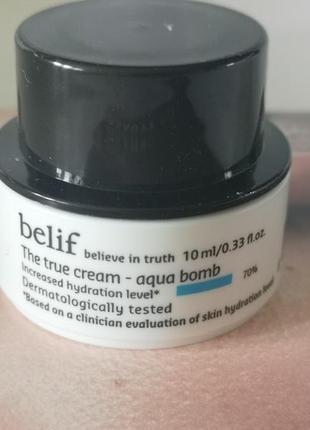 Belif интенсивный увлажняющий крем 10 мл