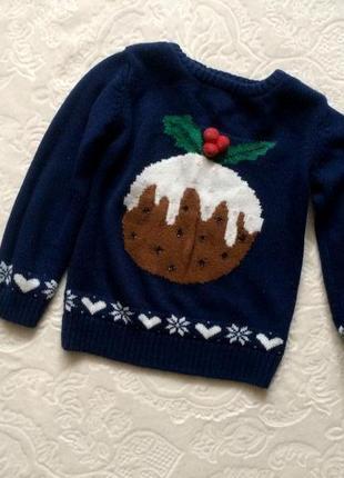 3f2a8ba4b4662 Новогодние свитеры для девочек 2019 - купить недорого вещи в ...