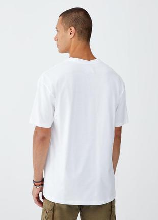 Новая летняя футболка pull&bear оригинал, pull and bear нарядная и свежая7 фото
