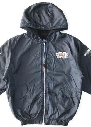 Куртка nike на мальчика двухсторонняя  8-10 л курточка демисезон ветровка осень весна