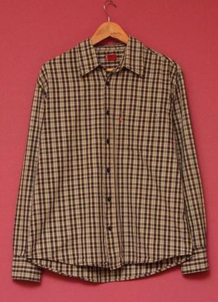 Levis red tab рр m-l рубашка в клетку оригинал