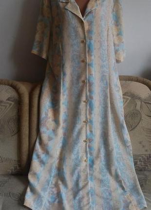 Нежное платье, батал, р. 22