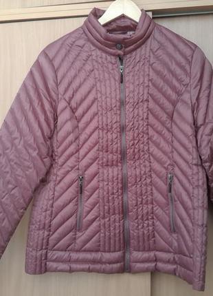 Стильная комфортная легкая  куртка на пуху. немецкое качество. оригинал