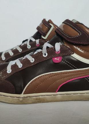 Утеплённые кроссовки кеды puma. размер 40