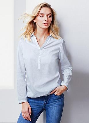 Блузка рубашка размер 46-48 наш tchibo тсм