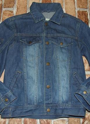 Пиджак джинс 10лет