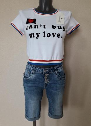 Трендовая,крутая,яркая,молодежная укороченная  футболка-топ с бархатным принтом