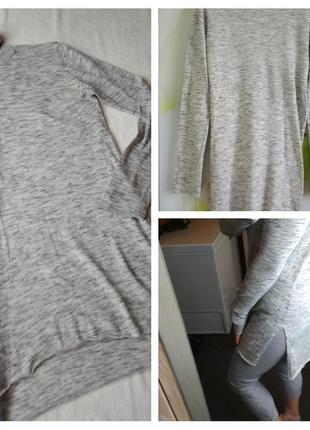 Стильный свитер,гольф, водолазка, туника, zara knit, p. 8-10