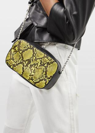 Новая мини-сумочка в животный принт
