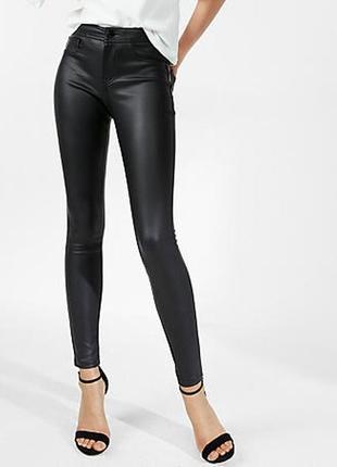 Шкіряні джинси легінси