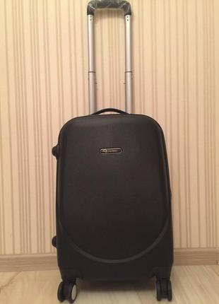 68661c334904 Чемодан валіза сумка дорожная на колесах пластиковый поликарбонат wings