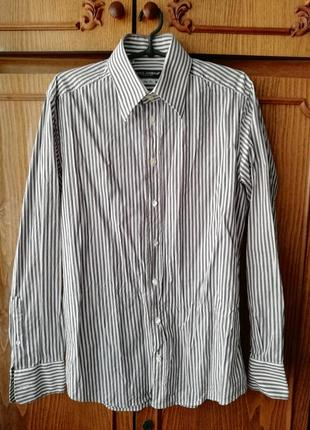 Рубашка от dolce gabbana в стиле prada versace hermes brioni zegna zilli