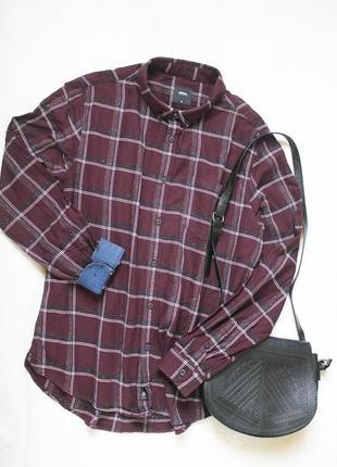 Рубашка в клетку от burton menswear, размер xl-xxl