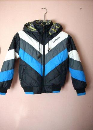 Куртка демисезонная, размер 110 - 116 новая