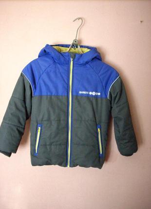 Куртка демисезонная, на мальчика barkito, размер 110.