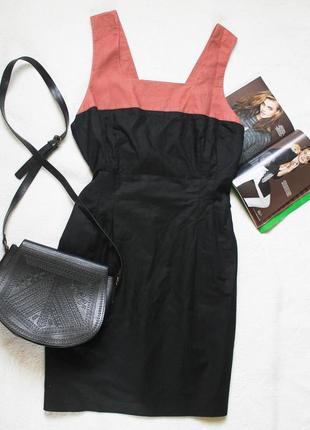 Льняное платье футляр от laura ashley, размер xl