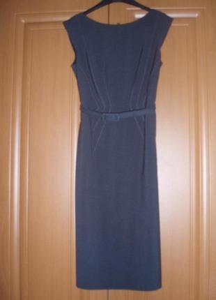 Строгое классическое платье