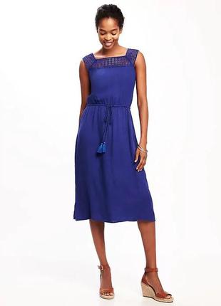 Женское платье сарафан old navy размер l 52ru женские платья миди летние