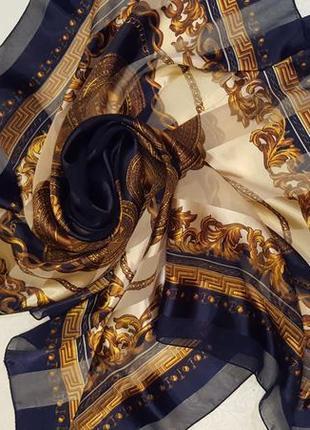 Шейный шелковый платок fashion ban do