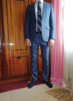 1e2164d343d5f Стильный, тройка, молодёжный, классический костюм+рубашка в подарок (любая  из продаваемых