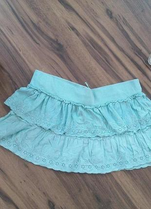 Кружевная юбочка от бренда zara